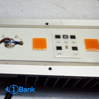 پروژکتور رشد گیاه (فول اسپکتروم) طیف استاندارد 4 چیپ ضد باران به همراه رفلکتور
