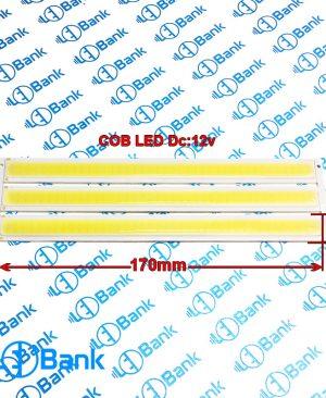 ال ای دی خطی سی او بی ولتاژ ورودی 12 ولت سفید مهتابی طول 170 میلیمتر