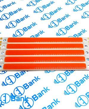 ال ای دی سی او بی 12 ولت خطی رنگ قرمز طول 120 میلیمتر عرض 10 میلیمتر