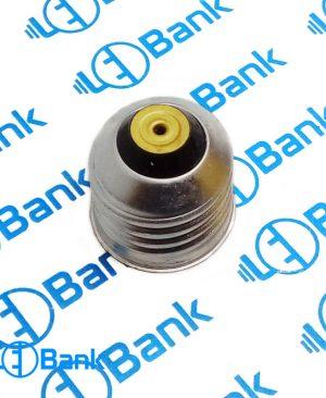 سرپیچ لامپ ال ای دی فلزی e27 مدل لحیمی