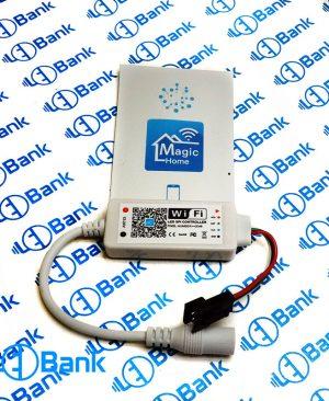 کنترلر ال ای دی پیکسل وای فای 2048 مجیک هوم ورودی 12-24 ولت