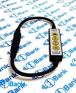 کنترل و دیمر بین راهی ولتاژ ورودی 15 الی 24 ولت حداکثر جریان 6 آمپر