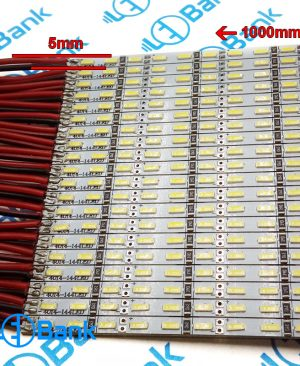 ال ای دی خطی عرض 5 میلی متر ورودی 12 ولت چیپ 4014 پرتراکم
