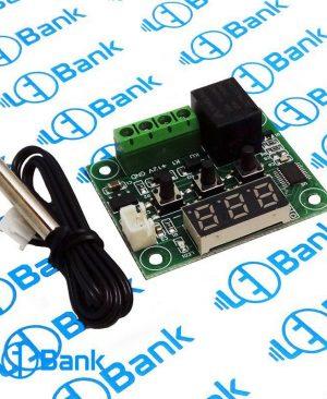 ماژول کنترل دما نمایشگردار 12 ولت با سنسور ضدآب XH-W1209