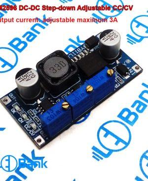 ماژول تغذیه تنظیم ولتاژ و جریان خروجی حداکثر 3 آمپر LM2596