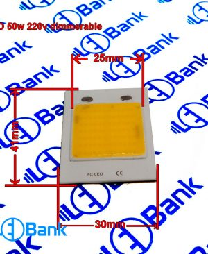 ال ای دی دیمر پذیر 220 ولت بدون نیاز به درایور قابلیت دیمر شدن مستقیم