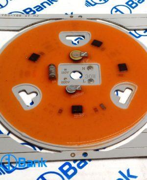 ال ای دی پرورش گیاه فول طیف 380 – 810 نانومتر آماده نصب به هیت بدون نیاز به درایور 220 ولت مستقیم