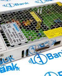 منبع تغذیه باریک 5 ولت 40 آمپر فلزی ورودی ولتاژ 110 و 220 ولت قابل تنظیم