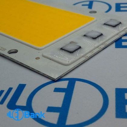 ال ای دی مستطیل 220 ولت زرد آفتابی 50 وات 100 لومن بر وات 114 در 61 میلیمتر محافظ در مقابل ولتاژ بالا