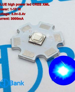ال ای دی کری آبی 460 نانومتر قطر پی سی بی 20 میلیمتر میزان روشنایی 457 لومن