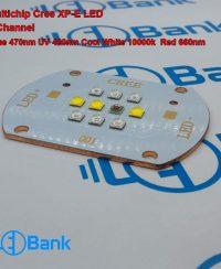 ال ای دی کری مولتی میکس 4 رنگ یو وی 420 نانومتر دیپ رد 660 نانومتر سفید 10000 کلوین و آبی 470 نانومتر