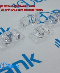 لنز ال ای دی لوبیایی کوچک مناسب استفاده برای قاب های خیابانی 22.8 در 11.5 به ارتفاع 9.3 میلیمتر