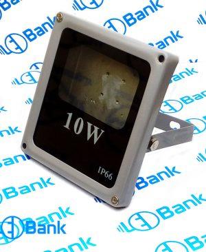 قاب پروژکتور ال ای دی 10 وات مانیتوری مناسب استفاده در محیط باز
