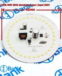 ال ای دی 30 وات گرد مهتابی ورودی 220 ولت طراحی منحصر به فرد برای ساخت لامپ حبابی قطر 92 میلیمتر