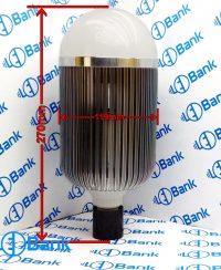 فریم لامپ حبابی آلومینیومی پی سی بی برای 100 عدد اس ام دی نیم وات و دیسک کف برای نصب ال ای دی 50 وات
