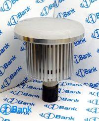 قاب لامپ ال ای دی 50 وات بدنه تمام آلومینیوم با حباب گرد بزرگ آماده برای نصب انواع ماژول سرپیچ e27