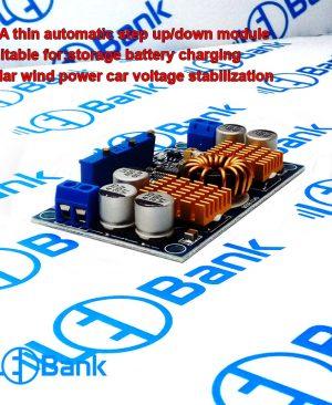 ماژول منبع تغذیه خودکار افزاینده و کاهنده ولتاژ برای شارژر باتری یا درایور ال ای دی و غیره
