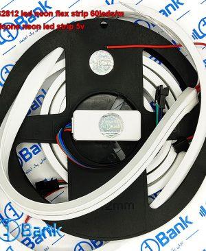 ال ای دی نئون آی سی دار ولتاژ کاری ۵ ولت قابلیت برش ضد آب